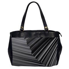 Paper Low Key A4 Studio Lines Office Handbags (2 Sides)