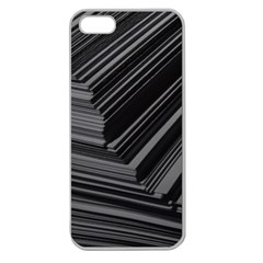Paper Low Key A4 Studio Lines Apple Seamless Iphone 5 Case (clear)