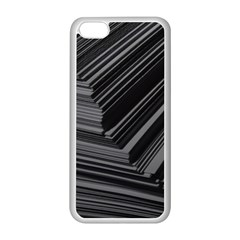 Paper Low Key A4 Studio Lines Apple iPhone 5C Seamless Case (White)