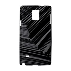 Paper Low Key A4 Studio Lines Samsung Galaxy Note 4 Hardshell Case