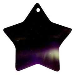 The Northern Lights Nature Ornament (Star)