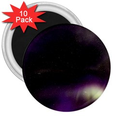 The Northern Lights Nature 3  Magnets (10 pack)