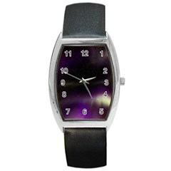 The Northern Lights Nature Barrel Style Metal Watch