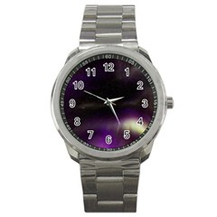 The Northern Lights Nature Sport Metal Watch