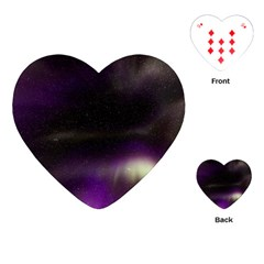 The Northern Lights Nature Playing Cards (Heart)