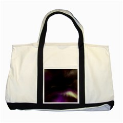The Northern Lights Nature Two Tone Tote Bag