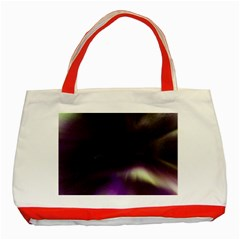 The Northern Lights Nature Classic Tote Bag (Red)