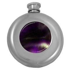 The Northern Lights Nature Round Hip Flask (5 Oz)