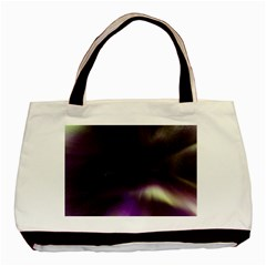 The Northern Lights Nature Basic Tote Bag (two Sides)