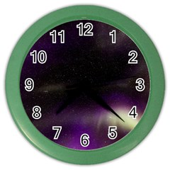 The Northern Lights Nature Color Wall Clocks
