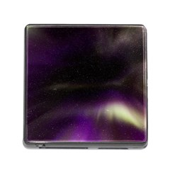 The Northern Lights Nature Memory Card Reader (Square)