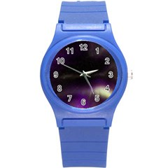 The Northern Lights Nature Round Plastic Sport Watch (S)