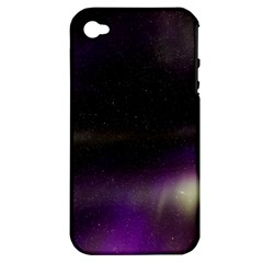 The Northern Lights Nature Apple Iphone 4/4s Hardshell Case (pc+silicone)