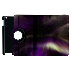 The Northern Lights Nature Apple Ipad 2 Flip 360 Case