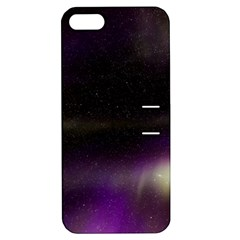 The Northern Lights Nature Apple Iphone 5 Hardshell Case With Stand