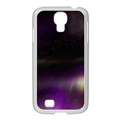 The Northern Lights Nature Samsung Galaxy S4 I9500/ I9505 Case (white)