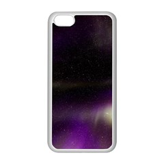 The Northern Lights Nature Apple iPhone 5C Seamless Case (White)