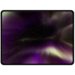 The Northern Lights Nature Double Sided Fleece Blanket (Large)
