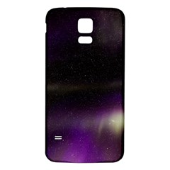 The Northern Lights Nature Samsung Galaxy S5 Back Case (White)