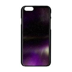 The Northern Lights Nature Apple iPhone 6/6S Black Enamel Case