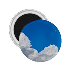 Sky Clouds Blue White Weather Air 2 25  Magnets
