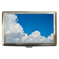 Sky Clouds Blue White Weather Air Cigarette Money Cases