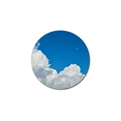 Sky Clouds Blue White Weather Air Golf Ball Marker