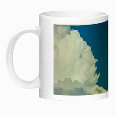 Sky Clouds Blue White Weather Air Night Luminous Mugs