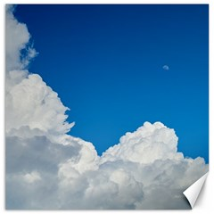 Sky Clouds Blue White Weather Air Canvas 20  X 20