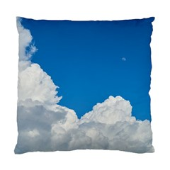 Sky Clouds Blue White Weather Air Standard Cushion Case (two Sides)