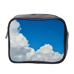 Sky Clouds Blue White Weather Air Mini Toiletries Bag 2 Side