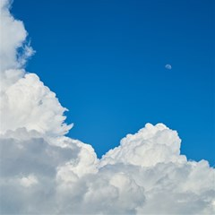 Sky Clouds Blue White Weather Air Magic Photo Cubes