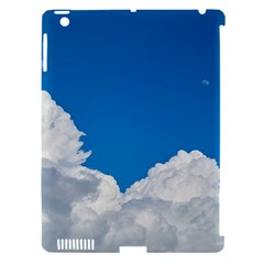 Sky Clouds Blue White Weather Air Apple iPad 3/4 Hardshell Case (Compatible with Smart Cover)