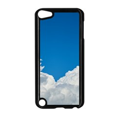 Sky Clouds Blue White Weather Air Apple Ipod Touch 5 Case (black)
