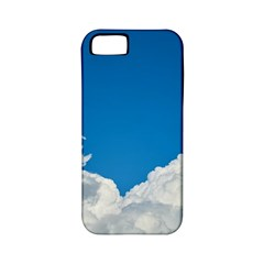 Sky Clouds Blue White Weather Air Apple iPhone 5 Classic Hardshell Case (PC+Silicone)