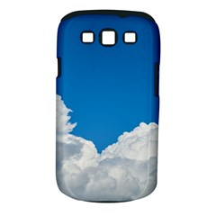 Sky Clouds Blue White Weather Air Samsung Galaxy S III Classic Hardshell Case (PC+Silicone)