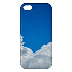 Sky Clouds Blue White Weather Air Apple iPhone 5 Premium Hardshell Case