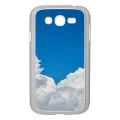 Sky Clouds Blue White Weather Air Samsung Galaxy Grand Duos I9082 Case (white)