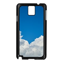 Sky Clouds Blue White Weather Air Samsung Galaxy Note 3 N9005 Case (black)