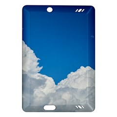 Sky Clouds Blue White Weather Air Amazon Kindle Fire Hd (2013) Hardshell Case