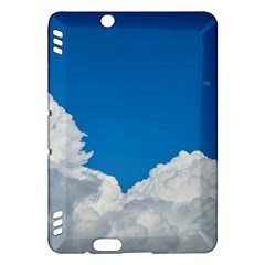 Sky Clouds Blue White Weather Air Kindle Fire Hdx Hardshell Case