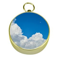 Sky Clouds Blue White Weather Air Gold Compasses