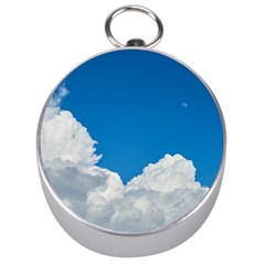 Sky Clouds Blue White Weather Air Silver Compasses