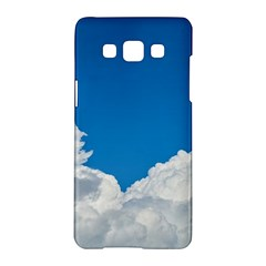 Sky Clouds Blue White Weather Air Samsung Galaxy A5 Hardshell Case