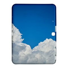 Sky Clouds Blue White Weather Air Samsung Galaxy Tab 4 (10.1 ) Hardshell Case