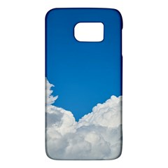 Sky Clouds Blue White Weather Air Galaxy S6