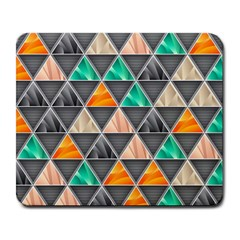 Abstract Geometric Triangle Shape Large Mousepads