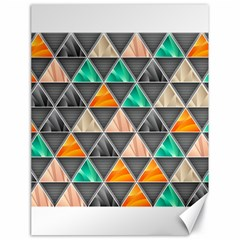 Abstract Geometric Triangle Shape Canvas 18  x 24