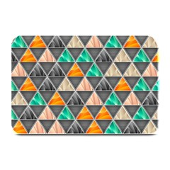 Abstract Geometric Triangle Shape Plate Mats