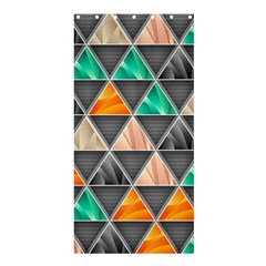 Abstract Geometric Triangle Shape Shower Curtain 36  X 72  (stall)